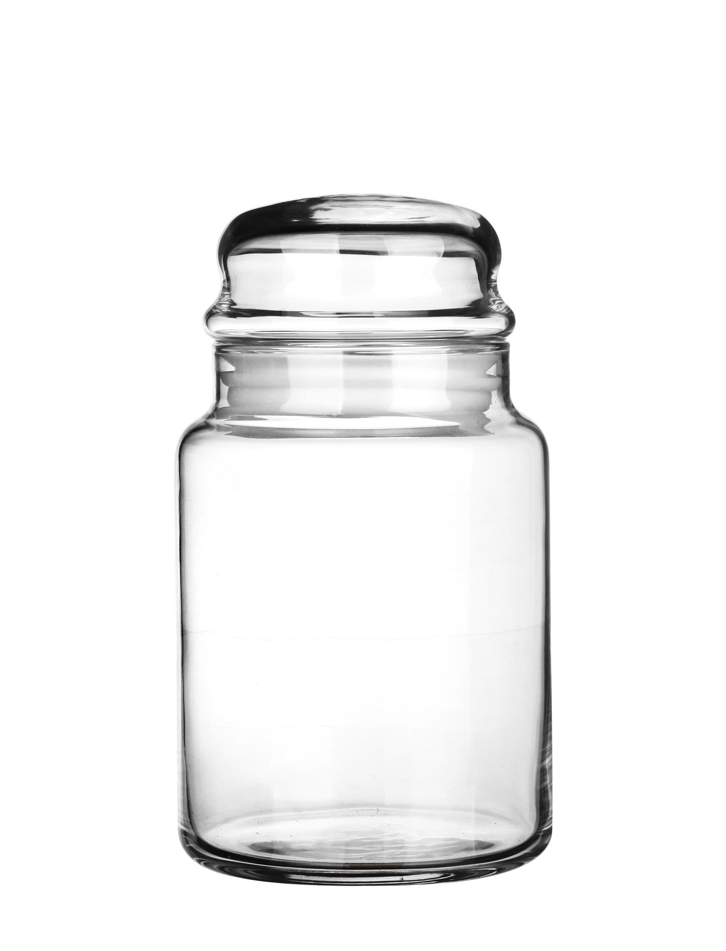 GLASMARK Skleněná dóza s víčkem, 890 ml