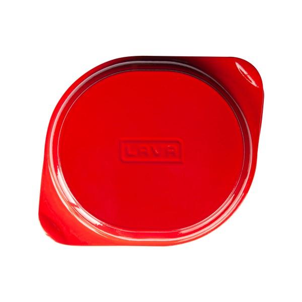 LAVA METAL Litinová forma na chléb 24x27 cm - červená