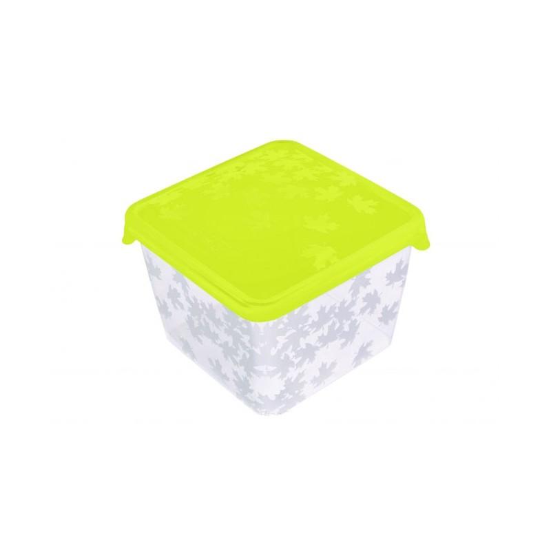 Branq Dóza na potraviny Rukkola 0,75l - čtverec vysoký