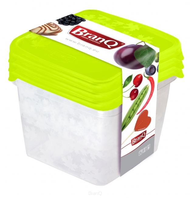 Branq Dózy na potraviny Rukkola 3ks - čtverec