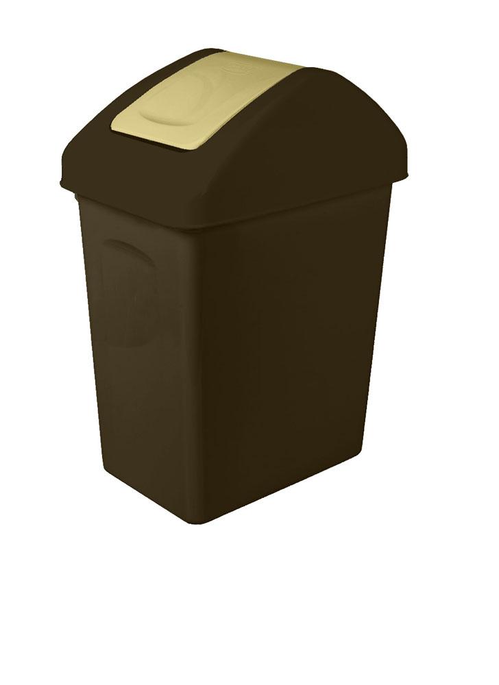 Branq Odpadkový koš s výklopným víkem 10l