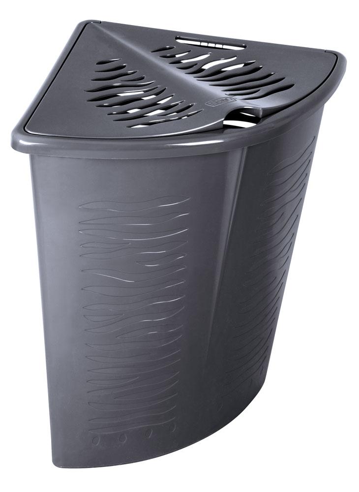 Branq Prádelní koš Zebra - rohový 45l
