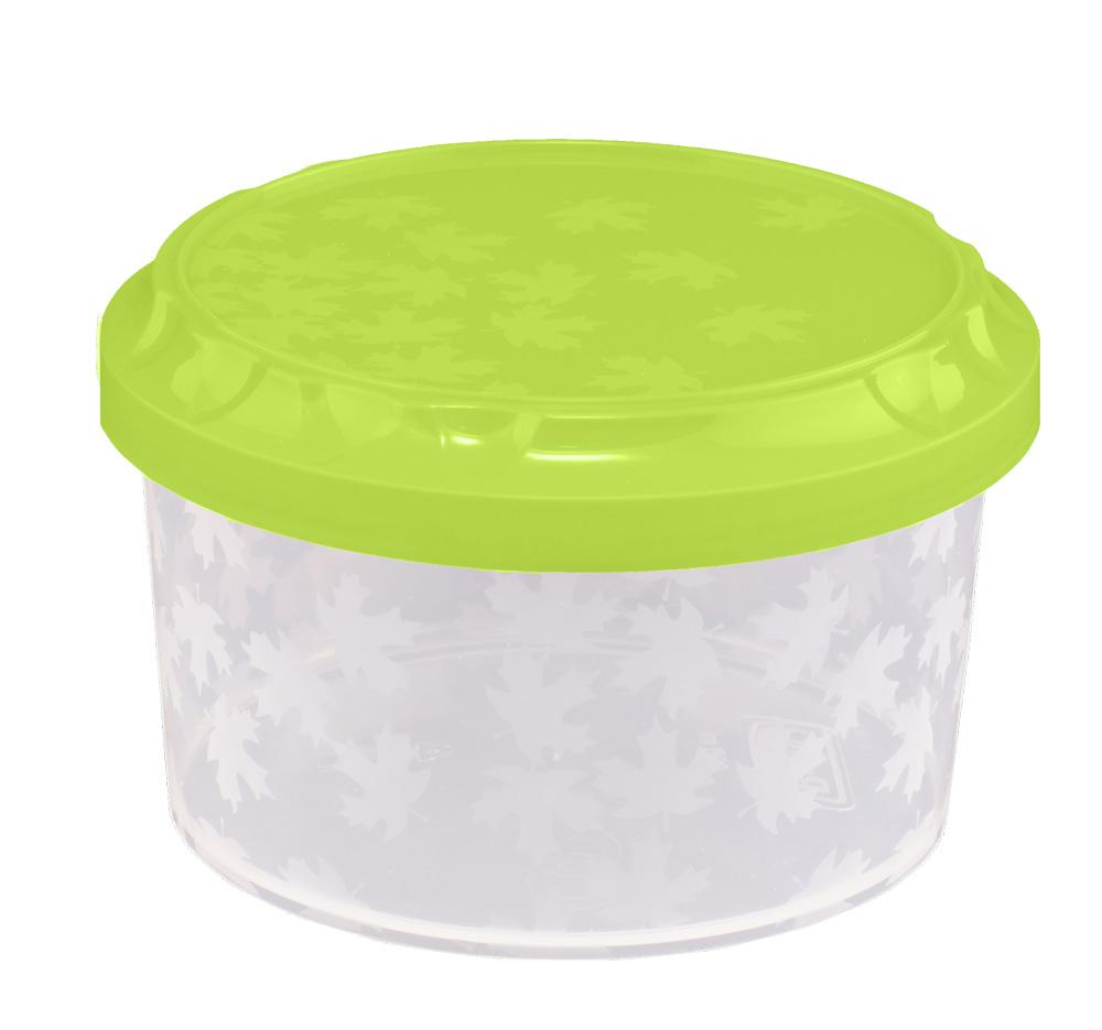 Branq Dóza na potraviny se závitem Rukkola 0,6l -kulatá