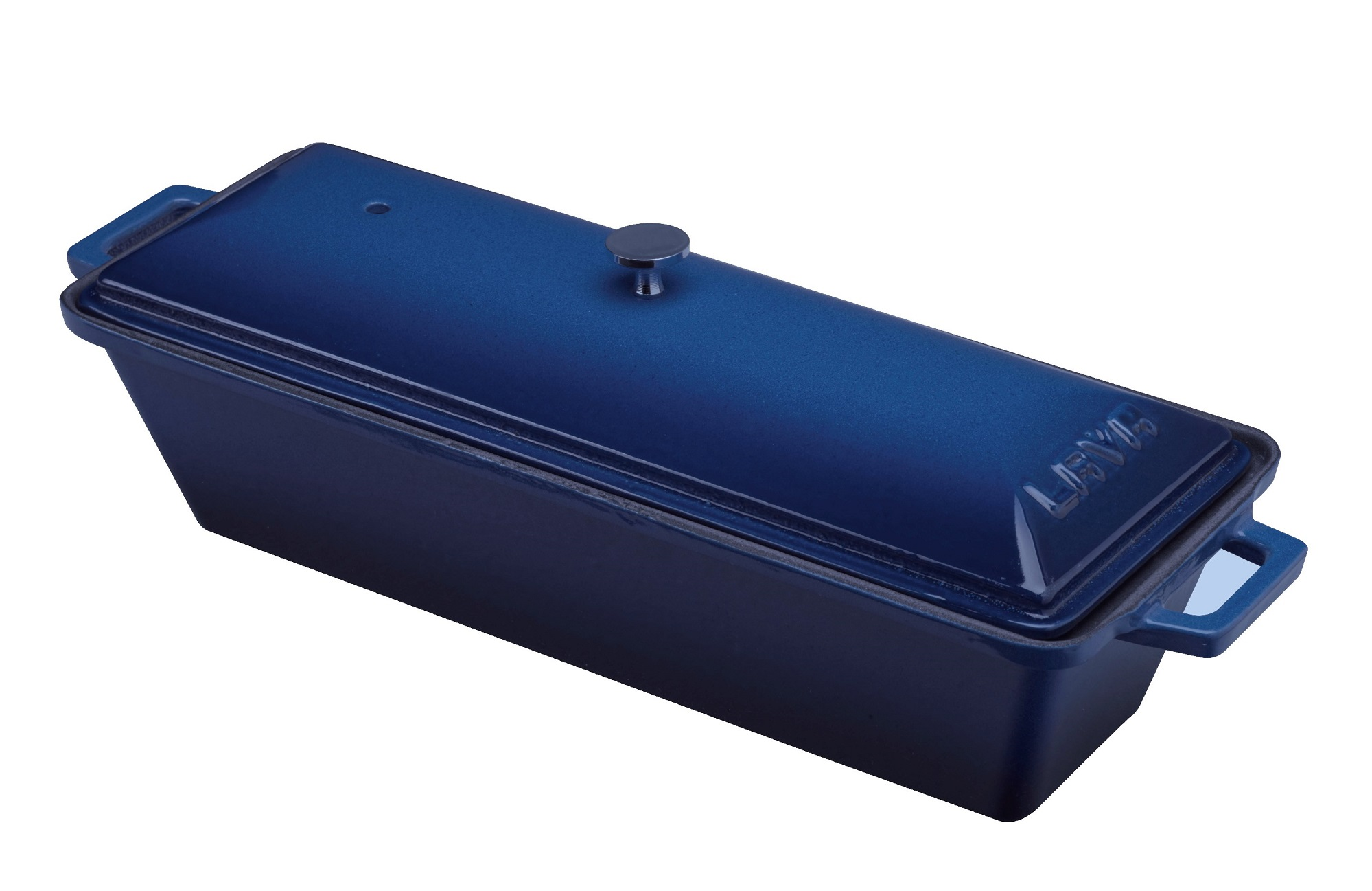 LAVA METAL Litinová terina - modrá