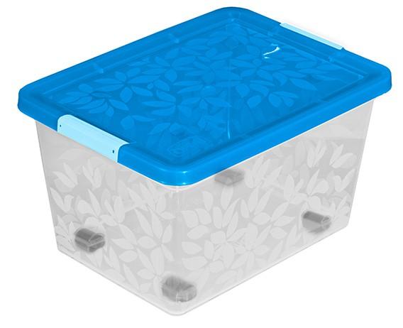 Branq Jasmine- úložný kontejner/box s víkem 55l