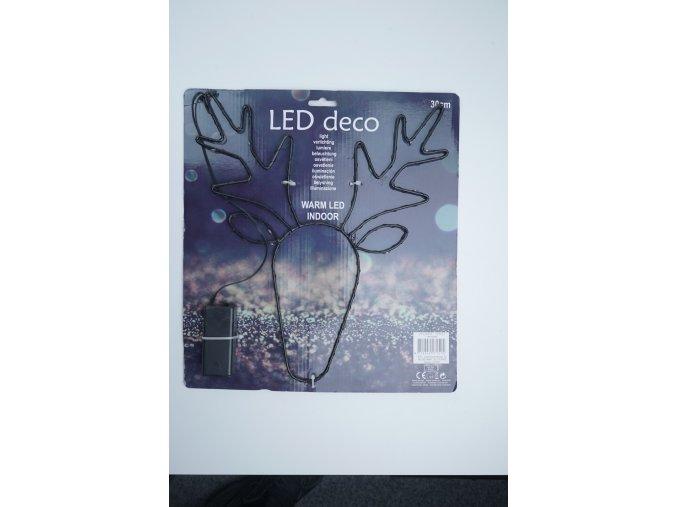 LED osvětlení - sob, stromeček, hvězdička
