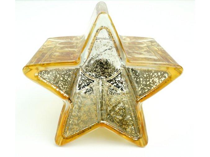 Hvězdička na čajovou svíčku - 3 barvy