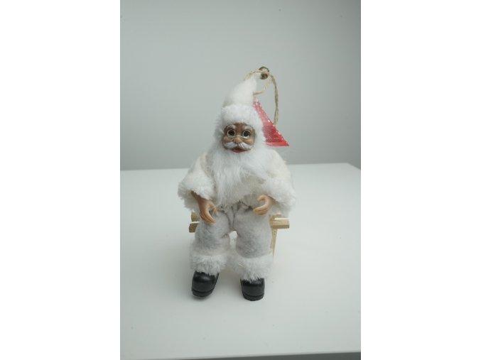 Děda Mráz na lavičce - 3 varianty