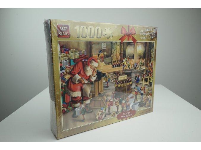 Vánoční puzzle 1000 kousků - 4 varianty