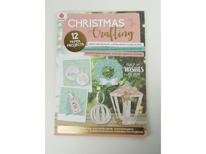 12 Vánočních papírových vánočních ozdob - vytvořte si sami - 2 varianty