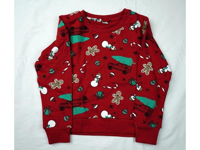 Dětská mikina vánoční - různé barvy