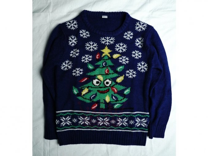 Dětský vánoční svetr - Stromeček