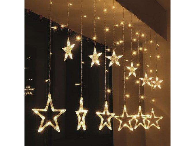 """Solight LED vánoční závěs """"hvězdy"""""""