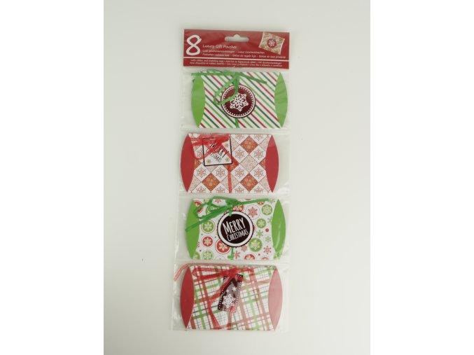 Balíčky na malé dárky - 8 ks