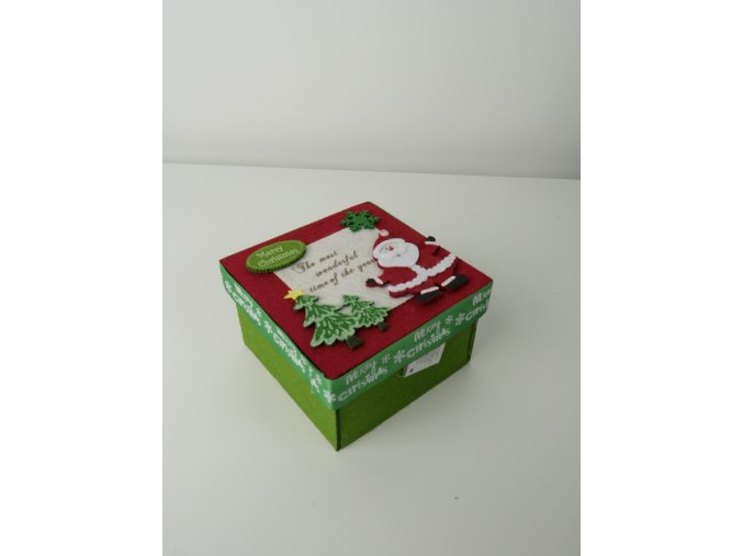 Krabička z plstu - 2 varianty