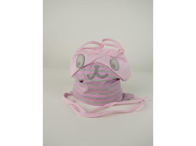 Dětská čepice s očima - více barev