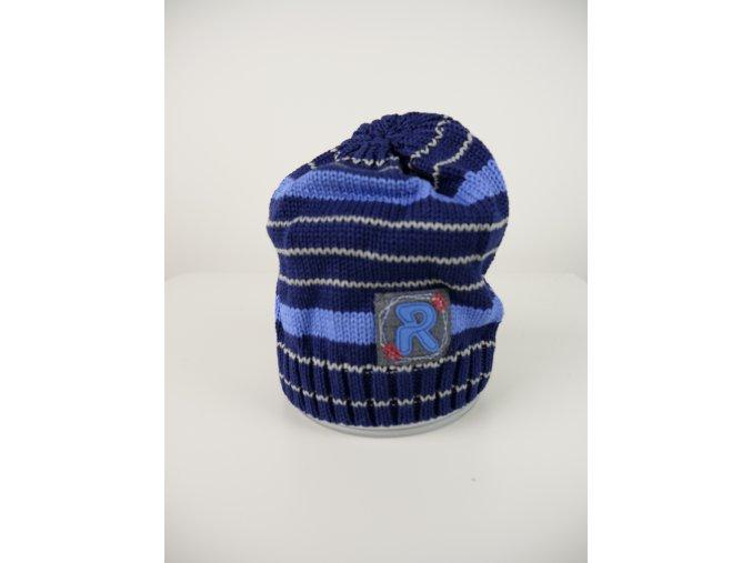 Chlapecká pruhovaná čepice