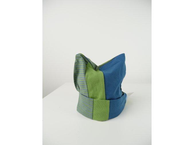 Dětská trojbarevná čepice - více barev