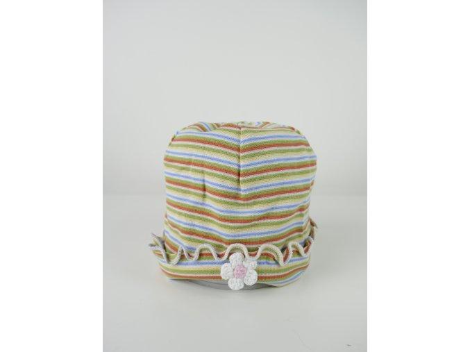 Dětská pruhovaná čepice - více barev