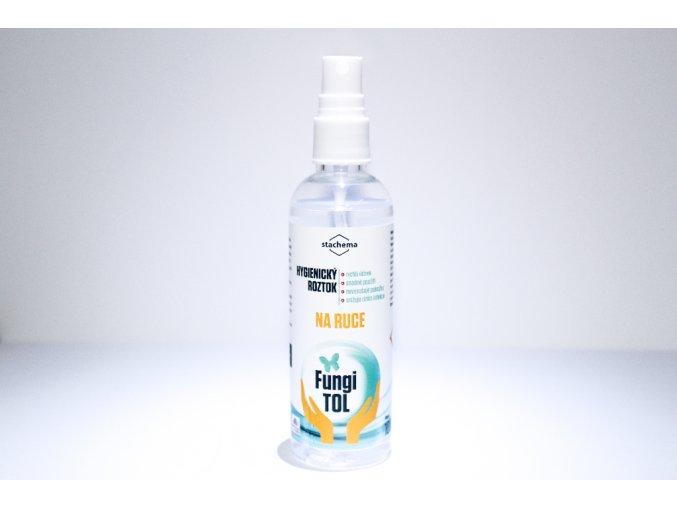 165 hygienicky roztok na ruce s davkovacem 100 ml