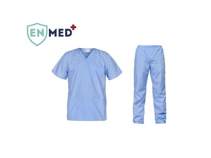 Unisex lekarsky set bluzanohavice all in svetlomodra 515x755
