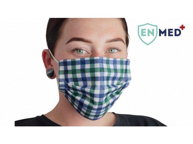 ENMED® Designová hygienická rouška 11 English 10 ks