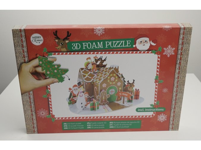 3D pěnové puzzle - 2 varianty