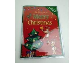 Hrající Vánoční přání - více druhů