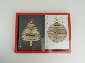 Vánoční přání - německy