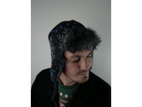 Čepice s norským vzorem - více barev
