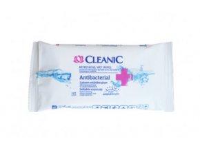 330 antibakterialni vlhcene ubrousky 15ks