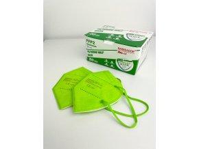 1041 4 zeleny respirator barbeador 1 ks