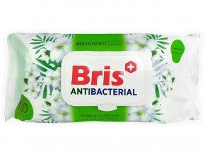 Antibakteriální ubrousky Bris GREEN - 100 ks