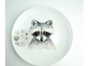 Dekorační talíř pro zavěšení na zeď