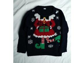 Dětský vánoční svetr - šaty