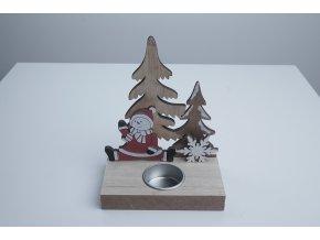 Dřevěný svícen na čajovou svíčku - více typů