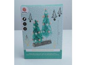 Vánoční stromeček - vytvořte si sami - 4 varianty