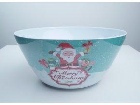 Plastová miska velká - různé vánoční motivy
