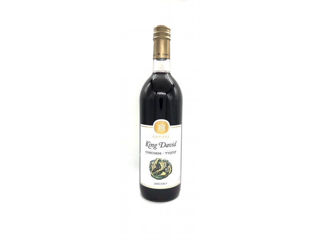 186009 king david concorde kidusove vino z izraele