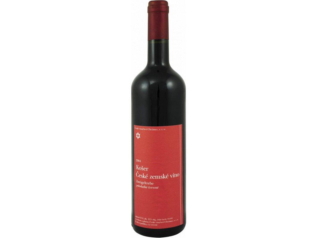 40373 koser ceske zemske vino zweigeltrebe polosladke cervene 2014