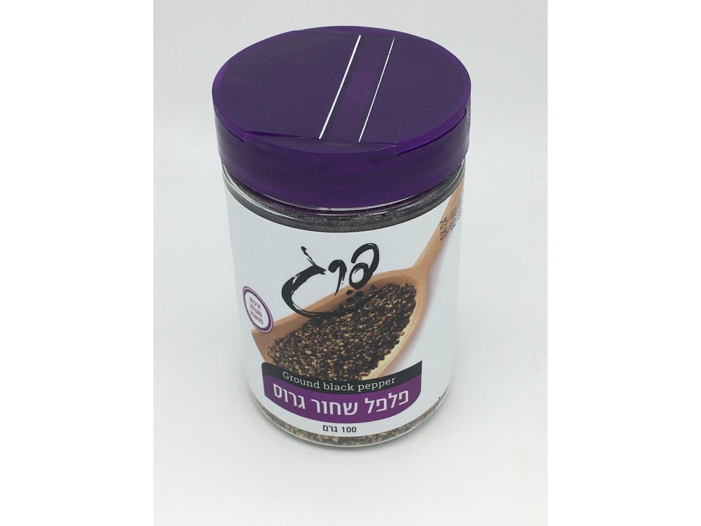 208391 cerny pepr z izraele ground black pepper