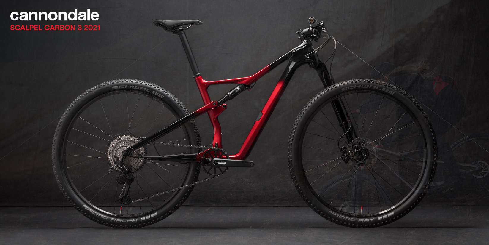 Cannondale Scalpel 29 Carbon 3 Red 2021