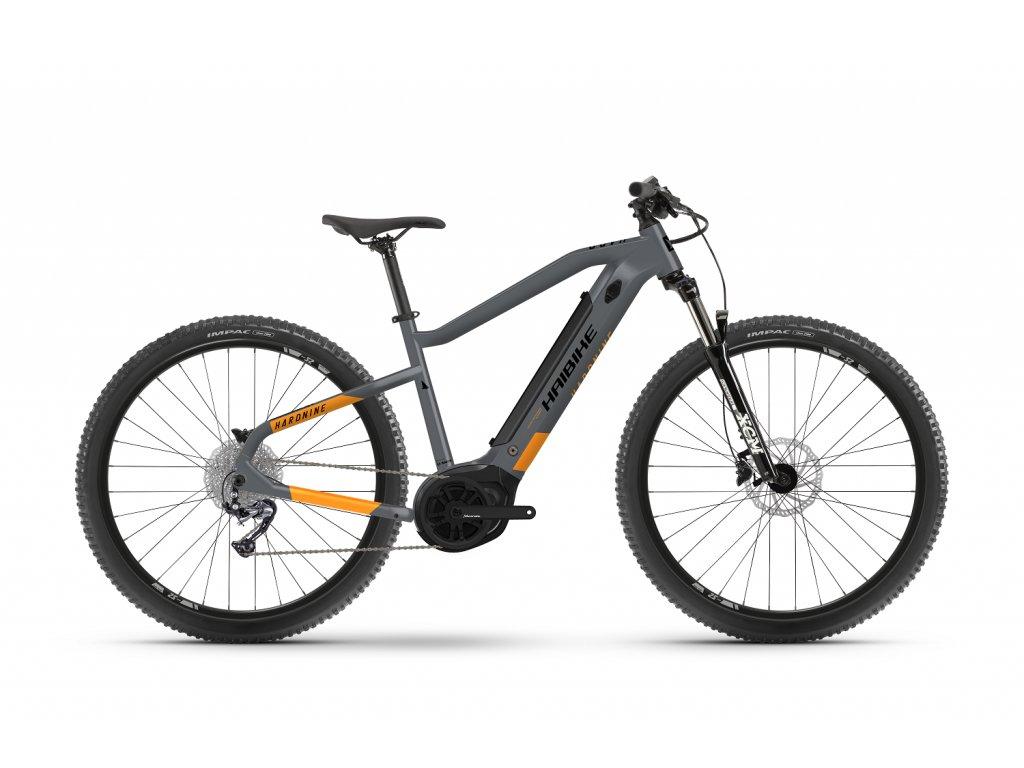 """Haibike Hardnine 4 2021 Cool grey/Lava matte (Batéria 400Wh, Veľkosť kolies 29"""", Veľkosť rámu L)"""