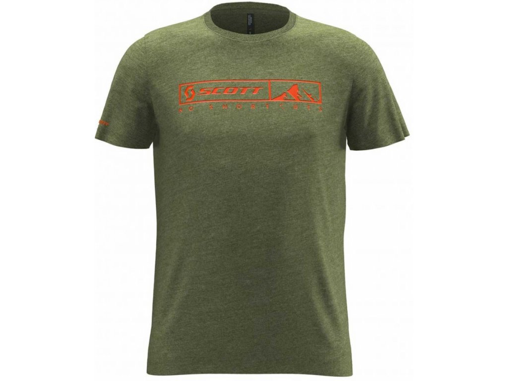 SCOTT 10 NO SHORTCUTS green moss