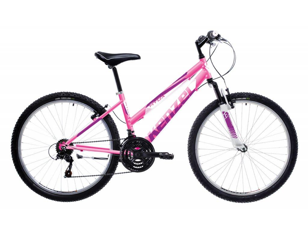 """Kenzel Avox SF 2021 Pink 27,5"""" (Veľkosť kolies 27,5"""", Veľkosť rámu 15"""")"""