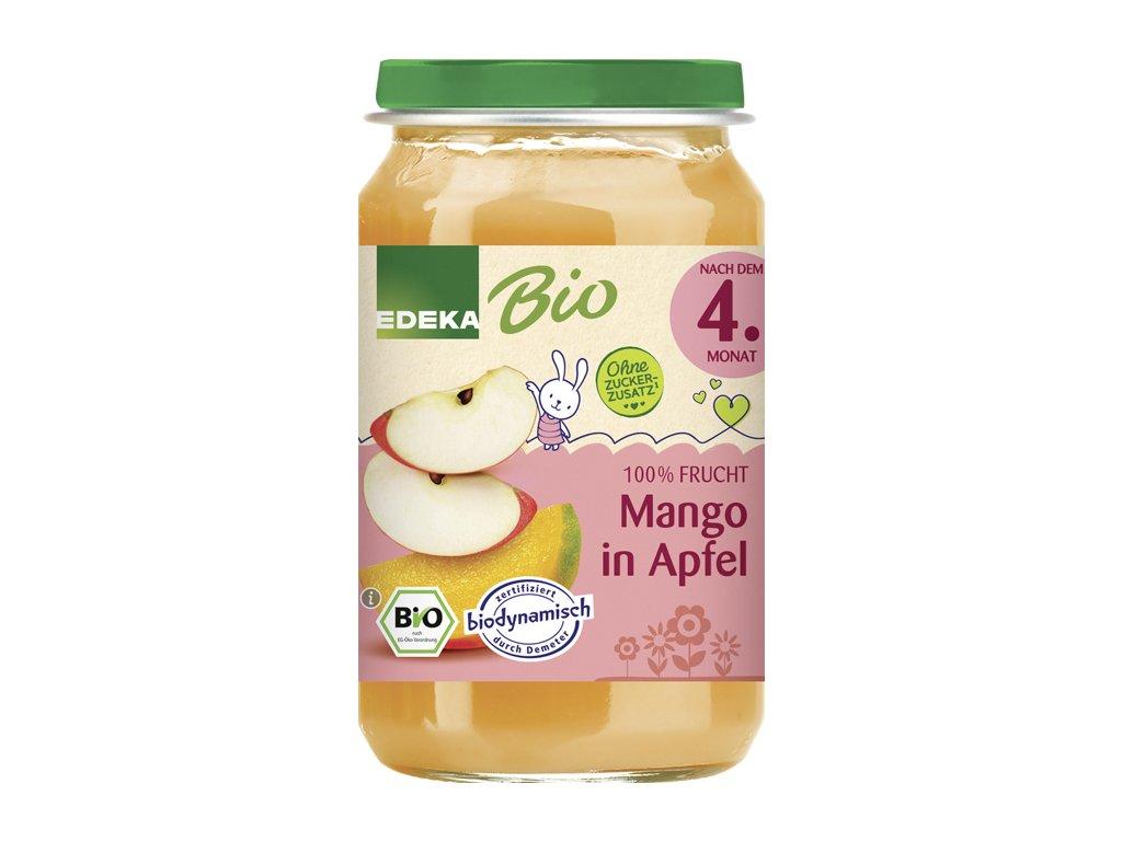 Ovocný příkrm BIO mango & jablko EDEKA, 190 g