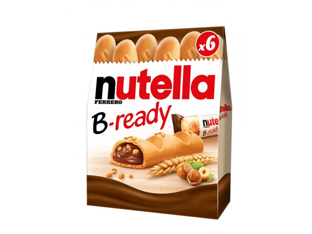 nutella b ready x6