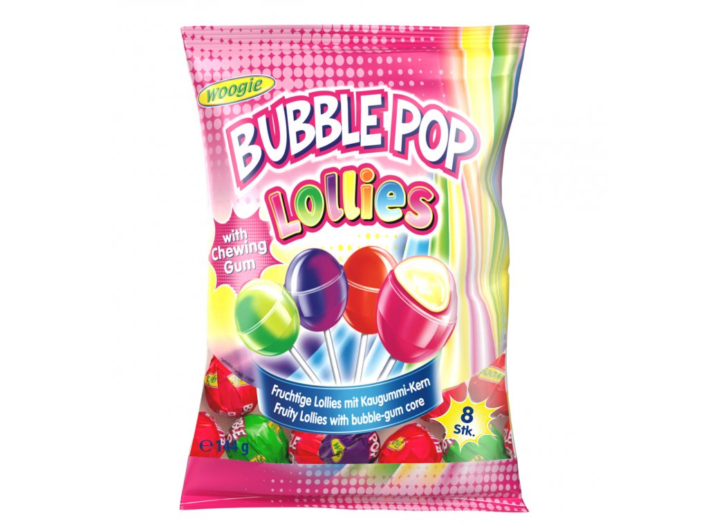 Lollies Bubble Pop 144g Bild 1 Zoombild
