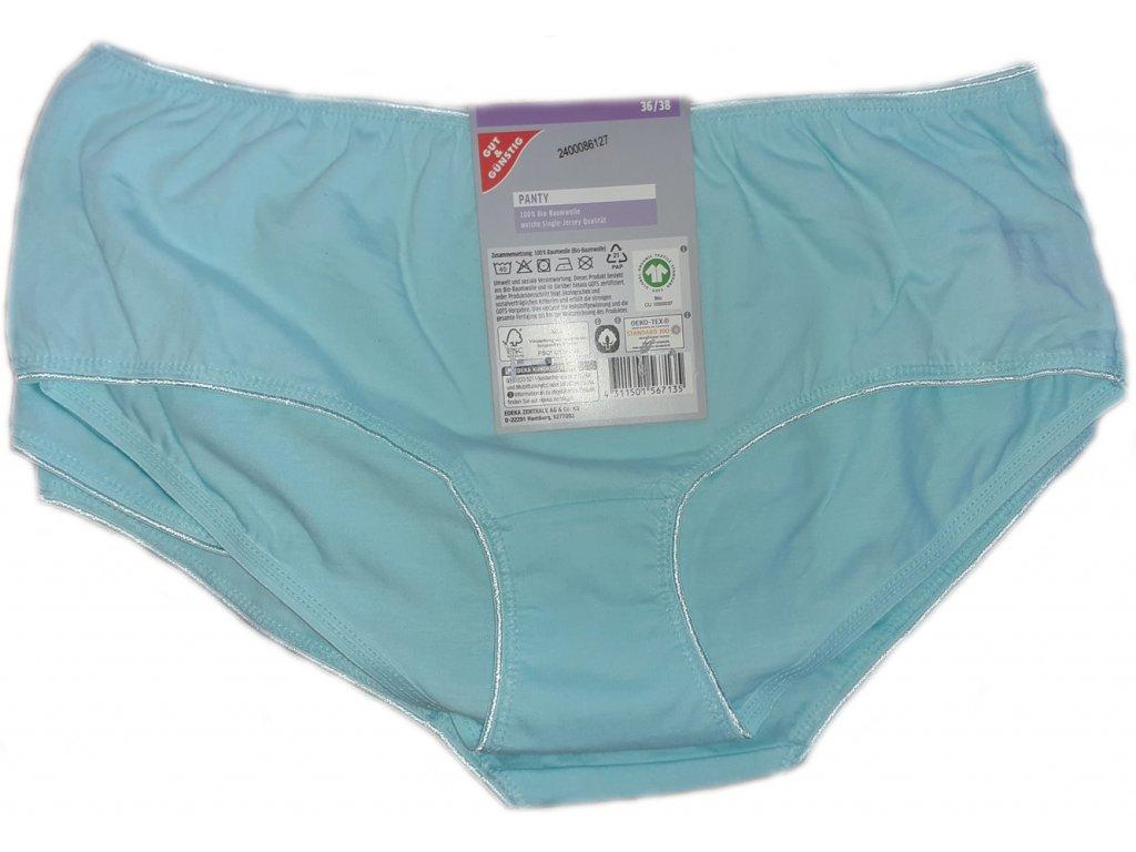 Dámské kalhotky PANTY, velikost 36/38, světle modré, G&G, 5 ks