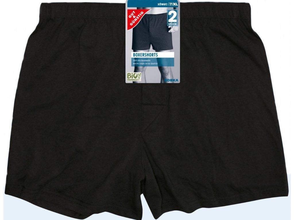 BOXERSHORTS schwarz 7 XL